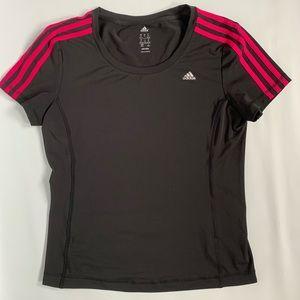 Adidas Climalite training short sleeve tee